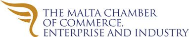 The Malta Chamber of Commerce Enterprise and Industry logo