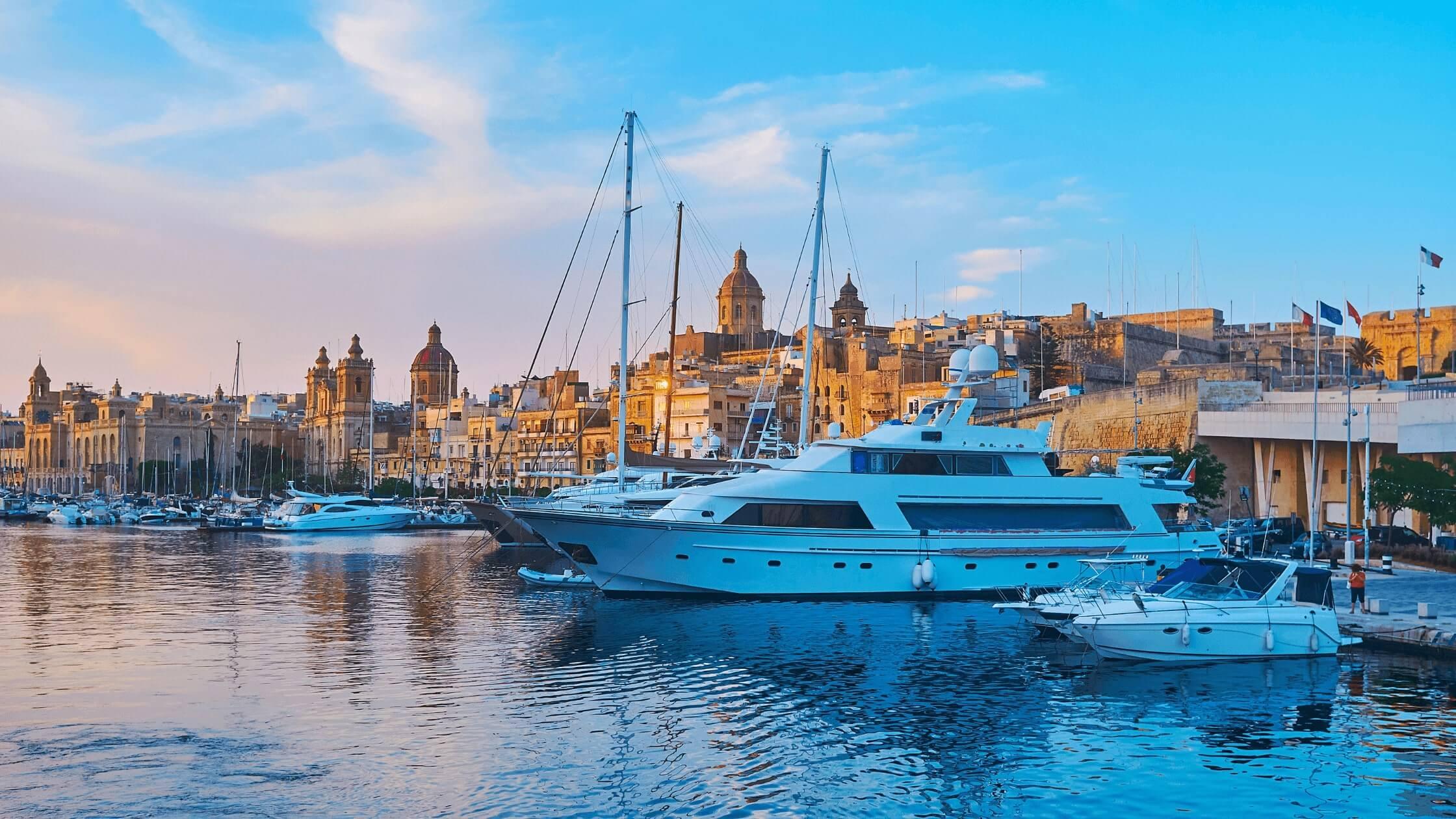 malta's ship registry named largest superyacht registry in the world