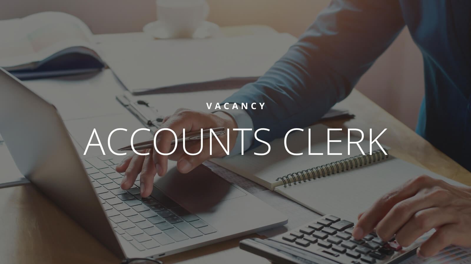 accounts clerk part-time position